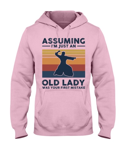 Assuming I'm Just An Old Lady - Aikido Retro