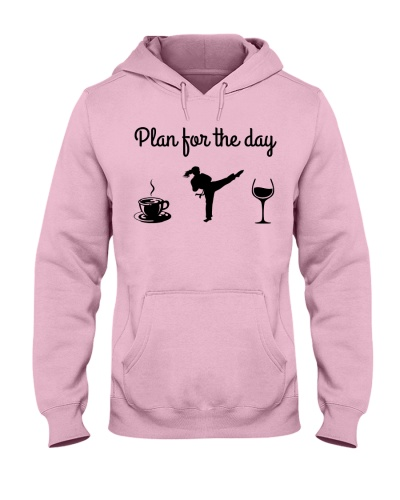 Plan For The Day - Karate