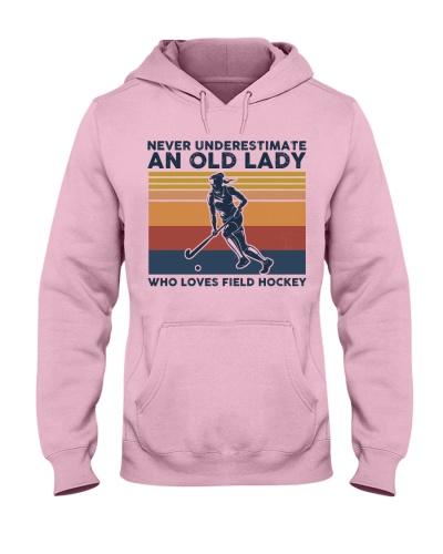 Never Underestimate An Old Lady - Field Hockey