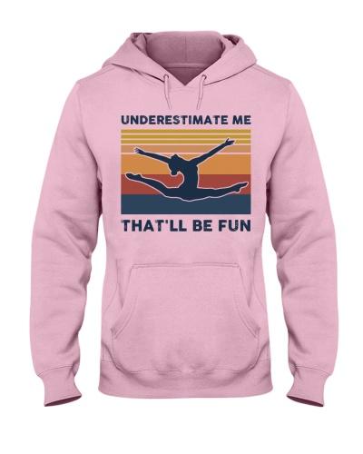 Underestimate Me That'll Be Fun - Gymnastics Retro
