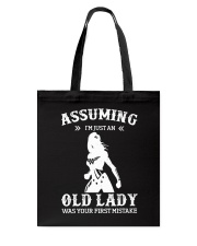 WW - Assuming I'm Just An Old Lady Tote Bag thumbnail
