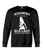 WW - Assuming I'm Just An Old Lady Crewneck Sweatshirt thumbnail