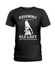 WW - Assuming I'm Just An Old Lady Ladies T-Shirt thumbnail