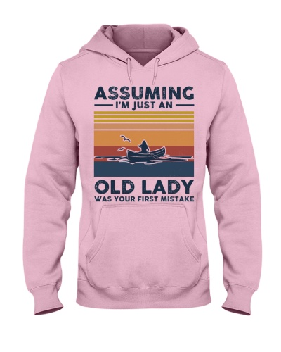 Assuming I'm Just An Old Lady - Canoeing Retro