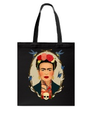 Frida Kahlo Sugar Skull Tote Bag thumbnail