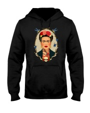 Frida Kahlo Sugar Skull Hooded Sweatshirt thumbnail