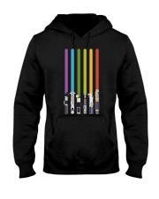 LGBT Vertical Lightsaber  Hooded Sweatshirt thumbnail
