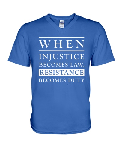 When Injustice Becomes Law Resistance Becomes Duty