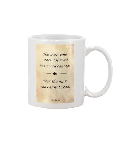 The Man Who Does Not Read Has No Advantage