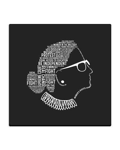 Be Independent RBG Silhouette
