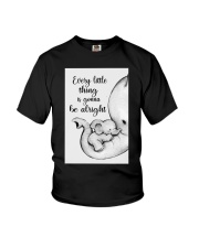 Elephant Mother And Baby - Be Alright Youth T-Shirt thumbnail