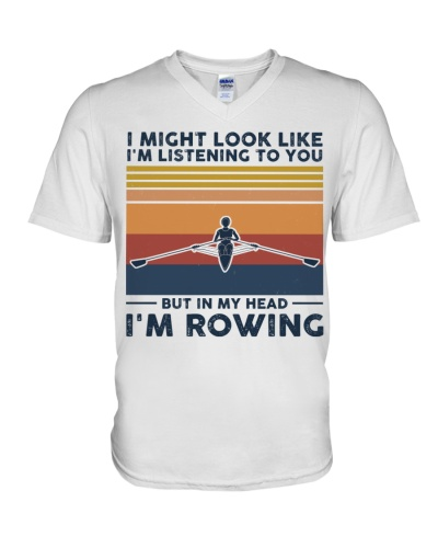 I Might Look Like I'm Listening To You  - Rowing