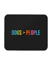 Love Dogs More Than People Mousepad thumbnail
