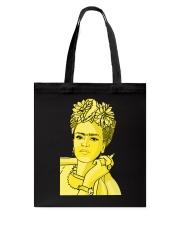 Frida Kahlo Smokes Tote Bag thumbnail