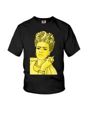 Frida Kahlo Smokes Youth T-Shirt thumbnail