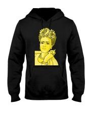 Frida Kahlo Smokes Hooded Sweatshirt thumbnail