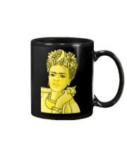 Frida Kahlo Smokes Mug thumbnail
