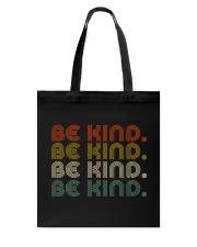 Be Kind Be Kind Retro Tote Bag thumbnail