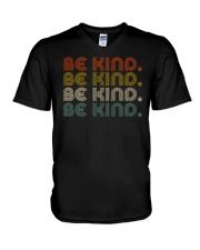 Be Kind Be Kind Retro V-Neck T-Shirt thumbnail