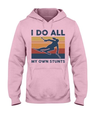 Skiing - I Do All My Own Stunts Retro