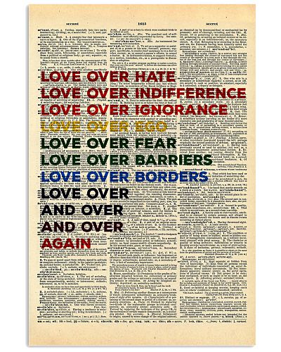 Love Over Hate Dictionary