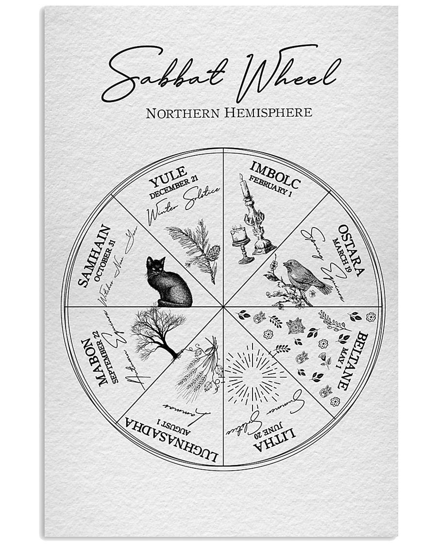 2020 Sabbat Calendar - Wheel of the Year 11x17 Poster