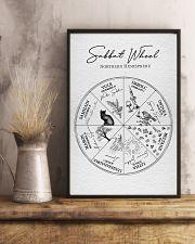 2020 Sabbat Calendar - Wheel of the Year 11x17 Poster lifestyle-poster-3