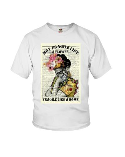 Frida Kahlo Not Fragile Like A Flower