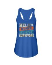 Believe Women Believe Survivors Ladies Flowy Tank thumbnail