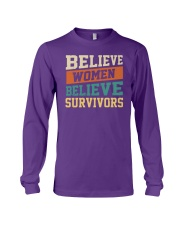 Believe Women Believe Survivors Long Sleeve Tee thumbnail