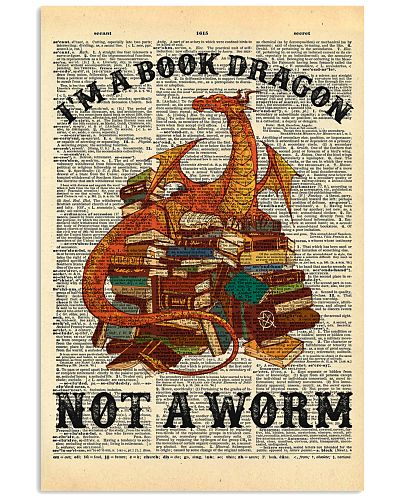 I'm A Book Dragon Not A Worm Dictionary