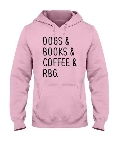 Dogs Books Coffee RBG