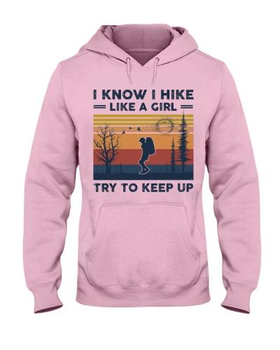 I Know I Hike Like A Girl - Hiking Retro