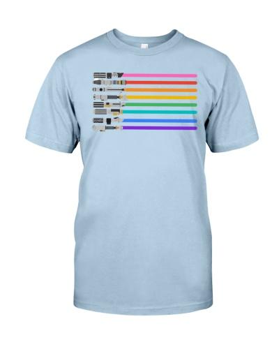 LGBT Pride Lightsaber - Star Gay