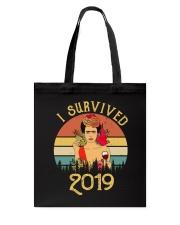 Frida Kahlo - I Survived 2019 Tote Bag thumbnail