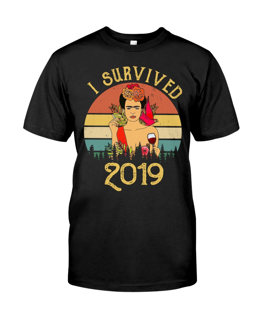 Frida Kahlo - I Survived 2019 Classic T-Shirt