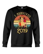 Frida Kahlo - I Survived 2019 Crewneck Sweatshirt thumbnail