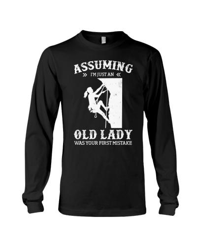 Assuming I'm Just An Old Lady - Rock Climbing