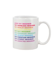 Love Thy Neighbor Mug tile