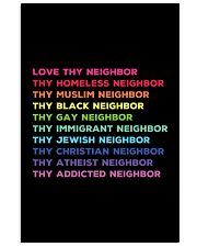 Love Thy Neighbor Vertical Poster tile