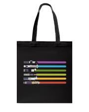 LGBT Lightsaber - Star Gay Tote Bag thumbnail