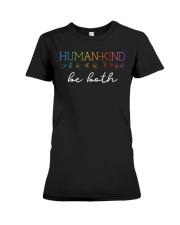 Human - Kind Be Both Sign Language Premium Fit Ladies Tee thumbnail