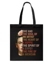 She Had The Soul Of A Hippie The Spirit Of A Gypsy Tote Bag thumbnail