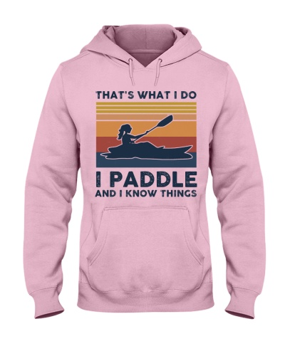I Paddle And I Know Things - Retro