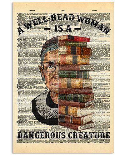 RBG - A Well-read Woman Is A Dangerous Creature