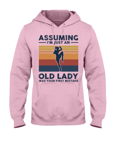 Assuming I'm Just An Old Lady - Muay Thai