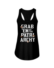 Grab 'Em By The Patriarchy Ladies Flowy Tank tile