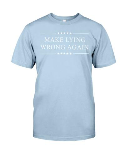 Make Lying Wrong Again