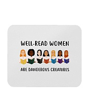 Well-read Women Are Dangerous Creatures Mousepad thumbnail