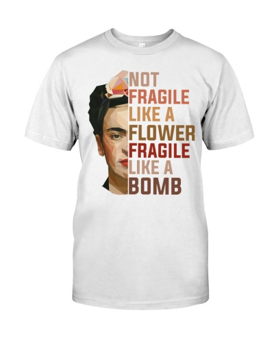 Frida Kahlo - Not Fragile Like A Flower
